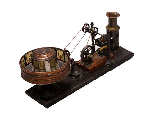 Rv1 127 praxinoscope a vapeur