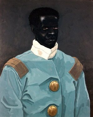 Kerry james marshall believed to be a portrait of david walker circa 18 1613 73
