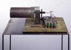 Panamarenko  0010 100.000 revoluties minute jet turbine  1976