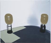 Sasnal  wilhelm  sea mine ii  2002