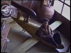 Panamarenko  toymodel of space  video still  1993