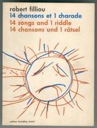 Filliou  0072 robert   14 chansons et 1 charade  1968%281%29