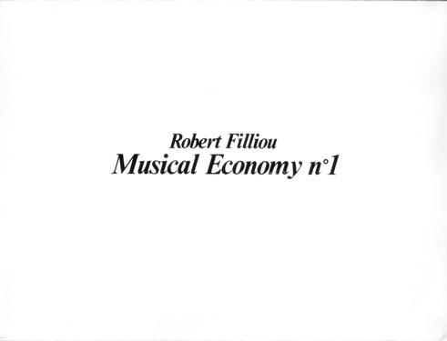 Filliou  0060 robert  musical economy n2  1983%281%29