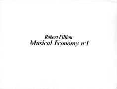 Filliou  0060 robert  musical economy n2  1983%281%29