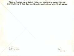 Filliou  0061 robert  musical economy n2  achterkant1983%281%29