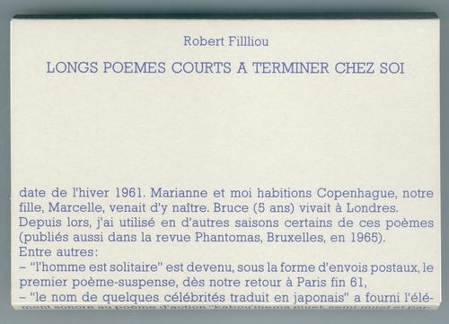 Filliou  0074 robert   longs poemes courts a terminer chez soi%281%29
