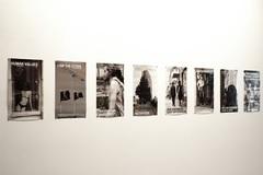 Pistoletto  michelangelo  calc  posters van de tentoonstelling  muhka archief foto clinckx