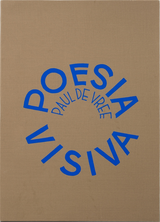 De vree  paul  poesia visiva cover
