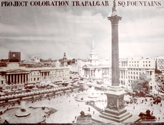 Uriburu  trafalgar square fountains  1974  photo clinckx