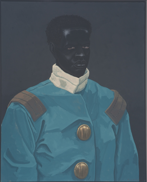 Kerry james marshall  portrait of david walker  2009  courtesy of the artist and jack shainman gallery  new york