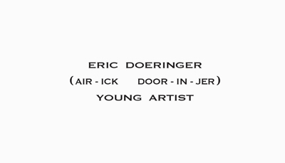 Eric doeringer young artist business card web