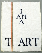 Fabre  jan  i am a t. art   bic dweil  1978 2006  photo  m hkaclinckx