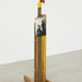Jimmi durham ohne titel untitled %28armadillo%29 1991 photo oliver ottenschlaeger secession 2013
