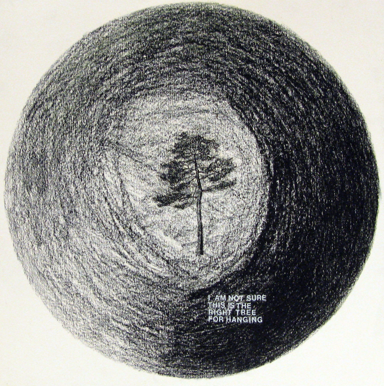 Drawing  r%c3%b3%c5%bcewicz %28tree%29 emily kocken 2011