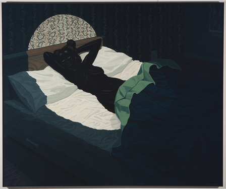 Kerry james marshall  nude %28spotlight%29  2009 courtesy defares collection  the netherlands