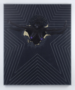 Kerry james marshall  black star  2011 courtesy marilyn and larry fields  chicago
