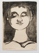 Cox jan visage de jeune femme 1950 photo m hka9