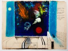 Cox jan studie voor muurschildering station herrmann derbroux brussel 1977 photo m hka22