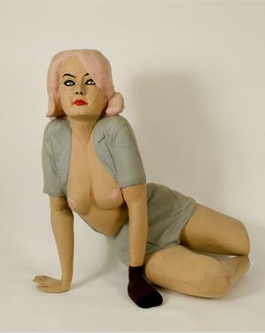 Panamarenko   molly peters  1966copyright brigitta callens