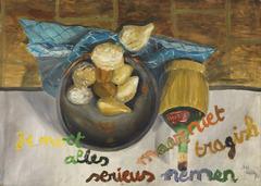 1976 serieus tragisch painting lh