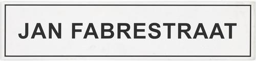 1977 janfabrestraat sign lh 001