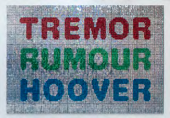 Tremor rumour hoover