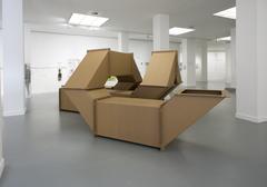 Charlotte posenenske %281930 1985%29  cardboard tubes  series dw  1967 1989 photo m hkaclinckx2
