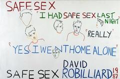 David robilliard  safe sex  1987 van abbemuseum