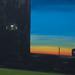 Koen van den broek sunset 2015 oil on canvas