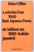 55. a selection from 1000 basic japanese poems  1971