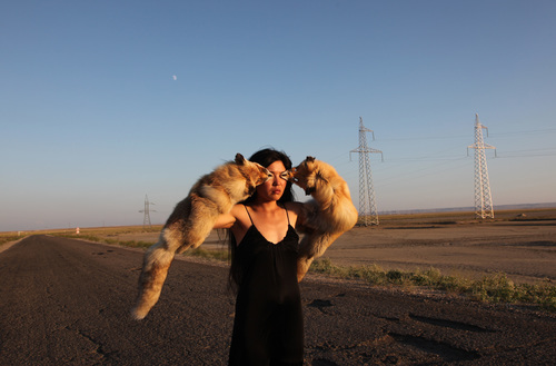 Almagul menlibayeva  the observer 2010photo the artist