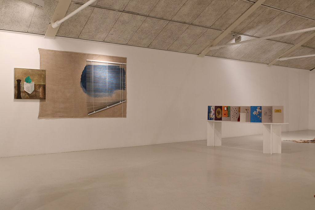 Installation view of view and diary 2016
