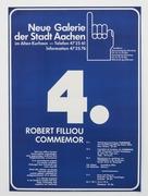 19. commemor poster  aachen 1970