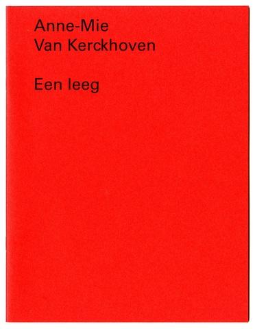 Een leeg cover kopie