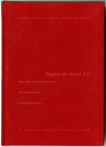 1995 tegen de keer 3x catalogus cover