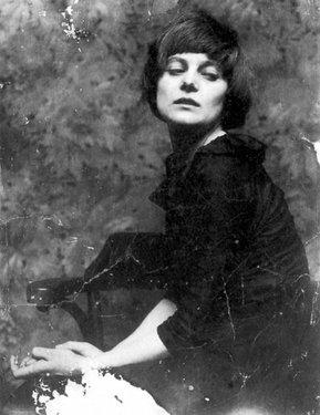 Hans richter  portrait of emmy hennings  1917