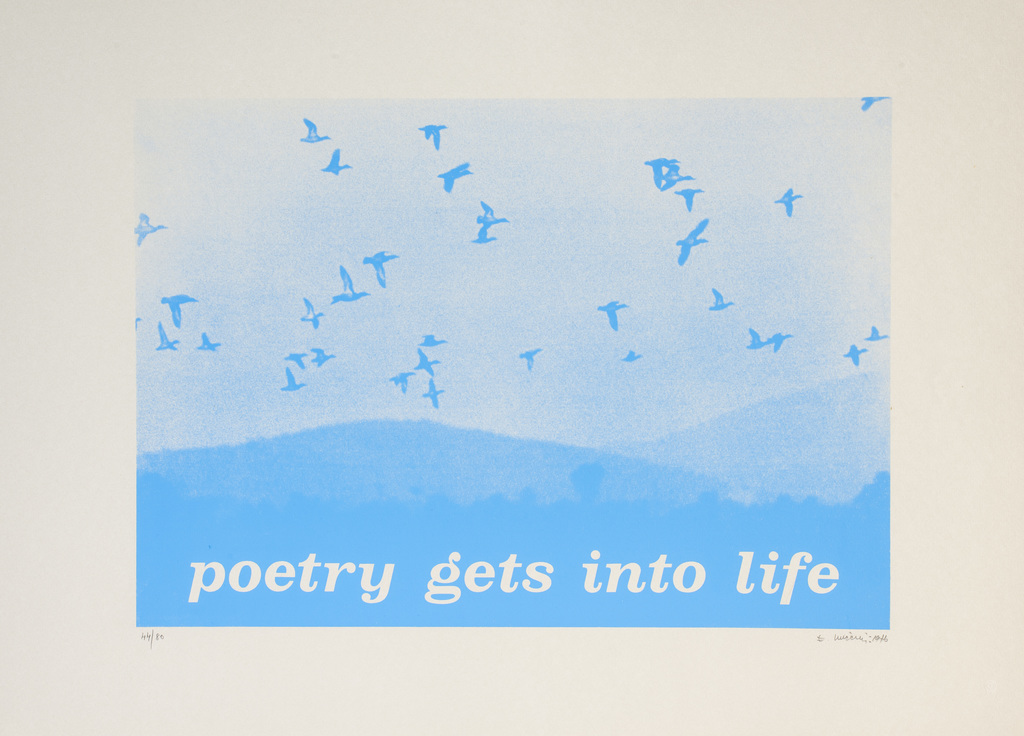 Eugenio miccini poetry gets into life 1975 m hka  2