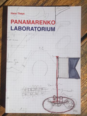 Cover panamarenko laboratorium 2014