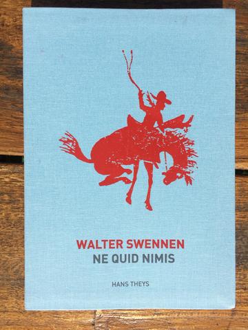 Cover walter swennen ne quid nimis 2016