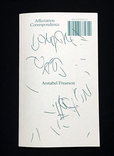 Affectation correspondence annabel frearson