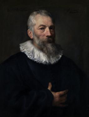 Anthony van dyck  de schilder marten pepijn  17e eeuw  koninklijk museum voor schone kunsten  antwerpen