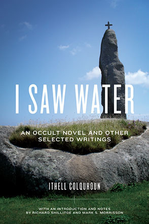 I saw water