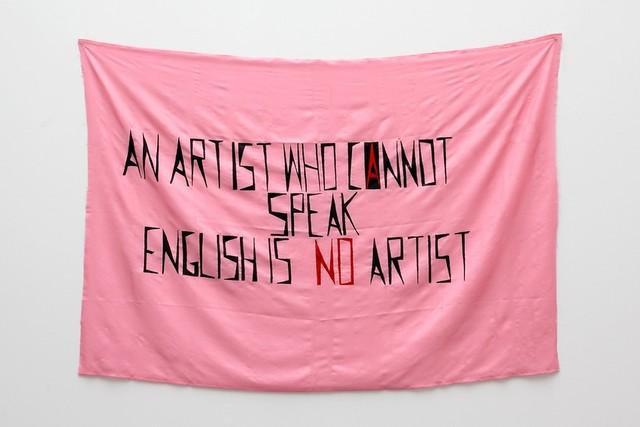 Stilinovic  an artist who cannot speak