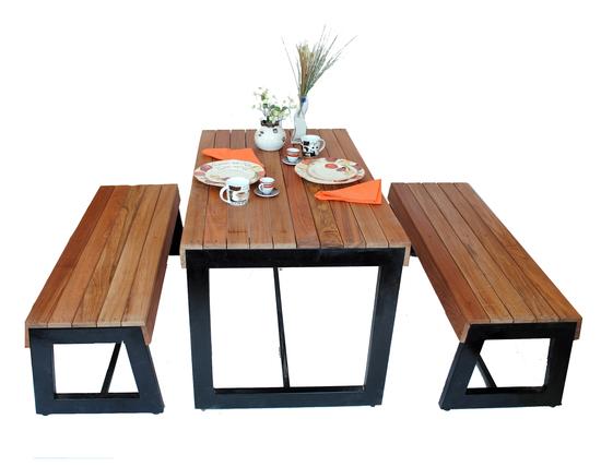 Mesas mianso muebles for Muebles para restaurantes y cafeterias