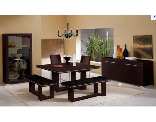 Comedores y antecomedores mianso muebles for Comedores modernos con banca