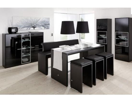 Comedores y antecomedores mianso muebles for Mesas para comedores pequea os