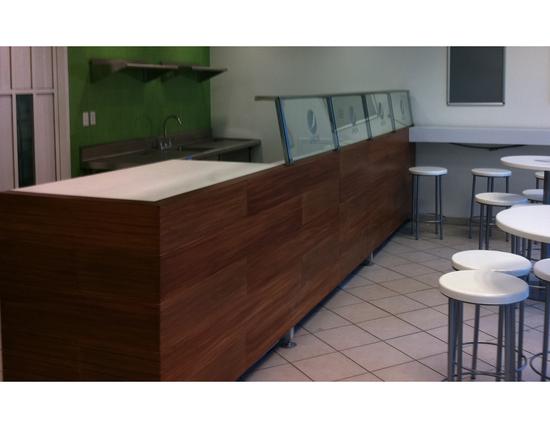 Mobiliario especial para restaurantes cafeterias y bares - Mostradores de bar ...