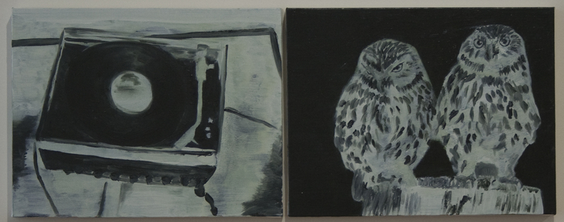 Michael Greaves: Record Player and Little Owls (2006)