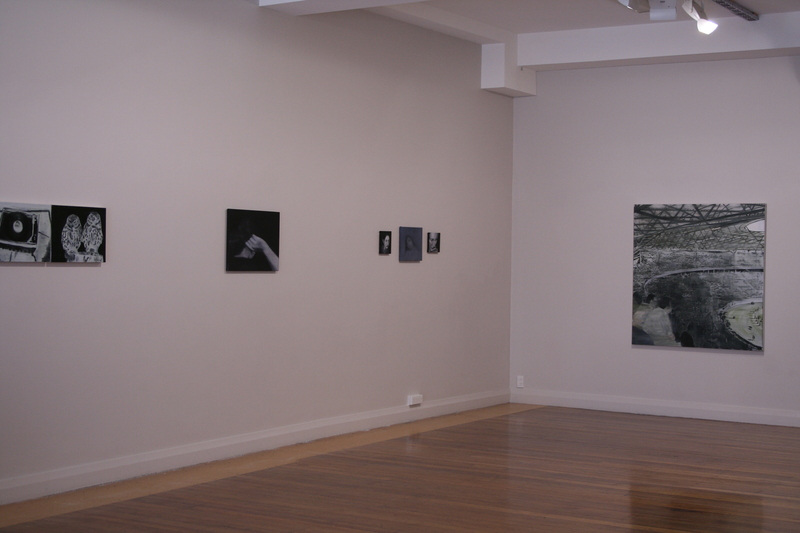 Michael Greaves: Installation view - Common Memory 2006