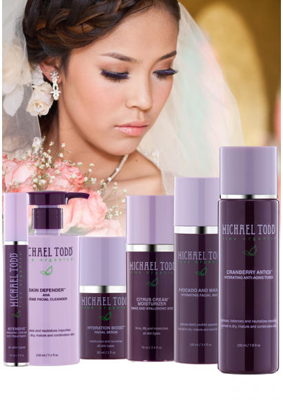 Dry Skin Wedding Regimen